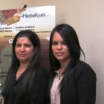 HerbaKraft President Nisha Khanijow and VP of Operations Liz Jaquez
