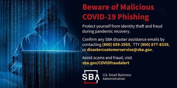 SBA Alert Malicious Phishing
