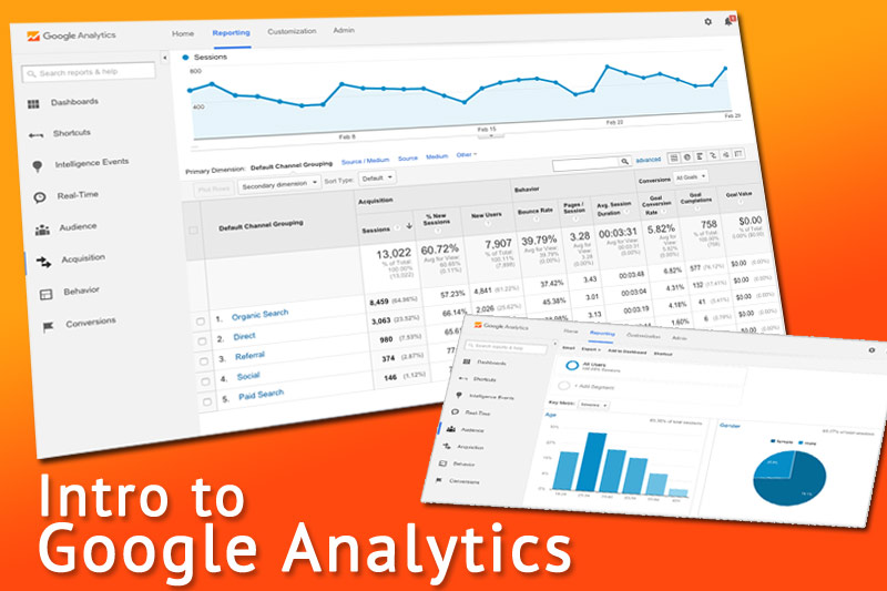 Intro to Google Analytics class