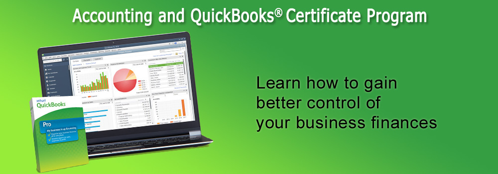 Accounting and Quickbooks Certificate Program